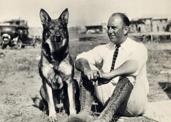 Rin Tin Tin, estrella de Hollywood